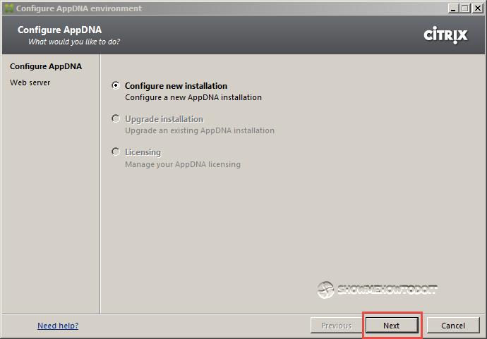 AppDNA 7 Configuration