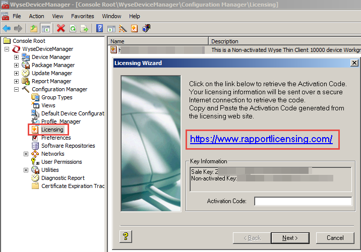 Wyse Device Manager 5 0 (WDM) Workgroup Installation