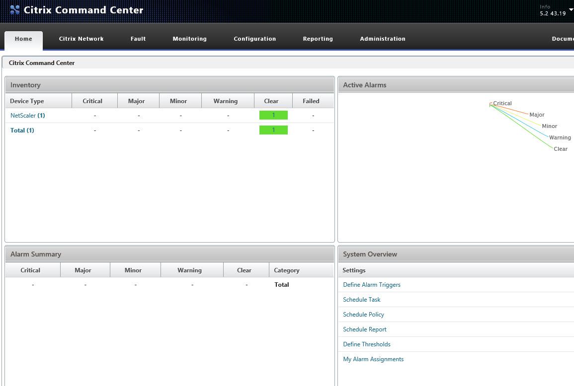 Citrix Command Center Overview