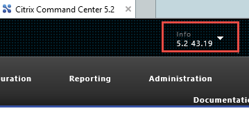 Citrix Command Center Upgrade